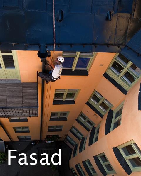 Fasadmålning Fasadtvätt Stockholm