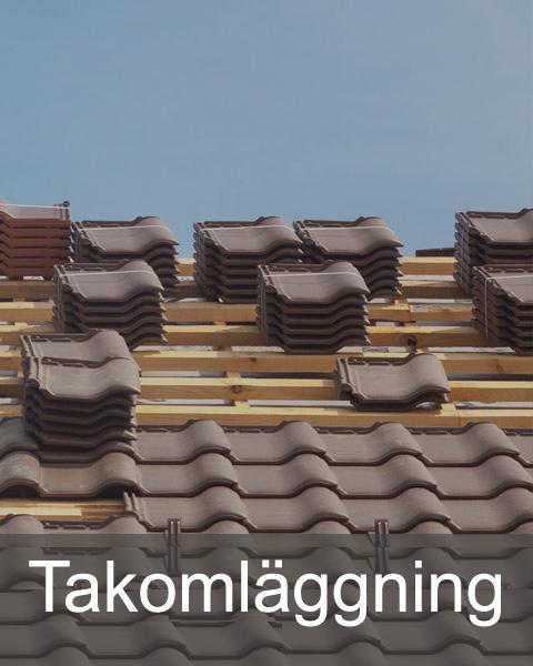 Takomläggning Lägga tak Stockholm