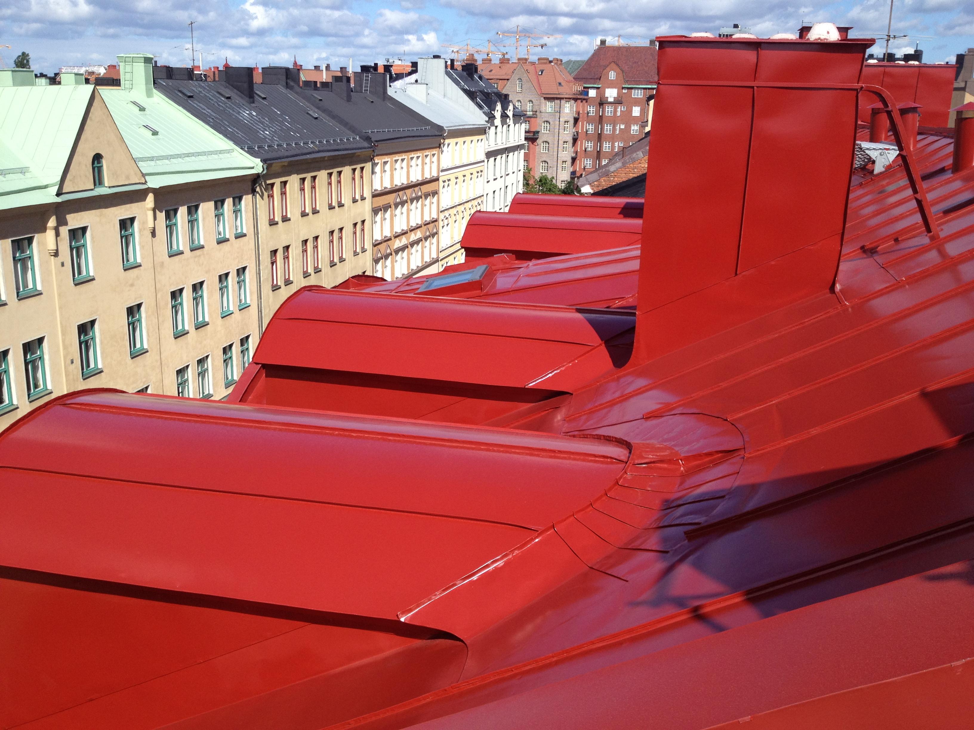 Takmalning Stockholm